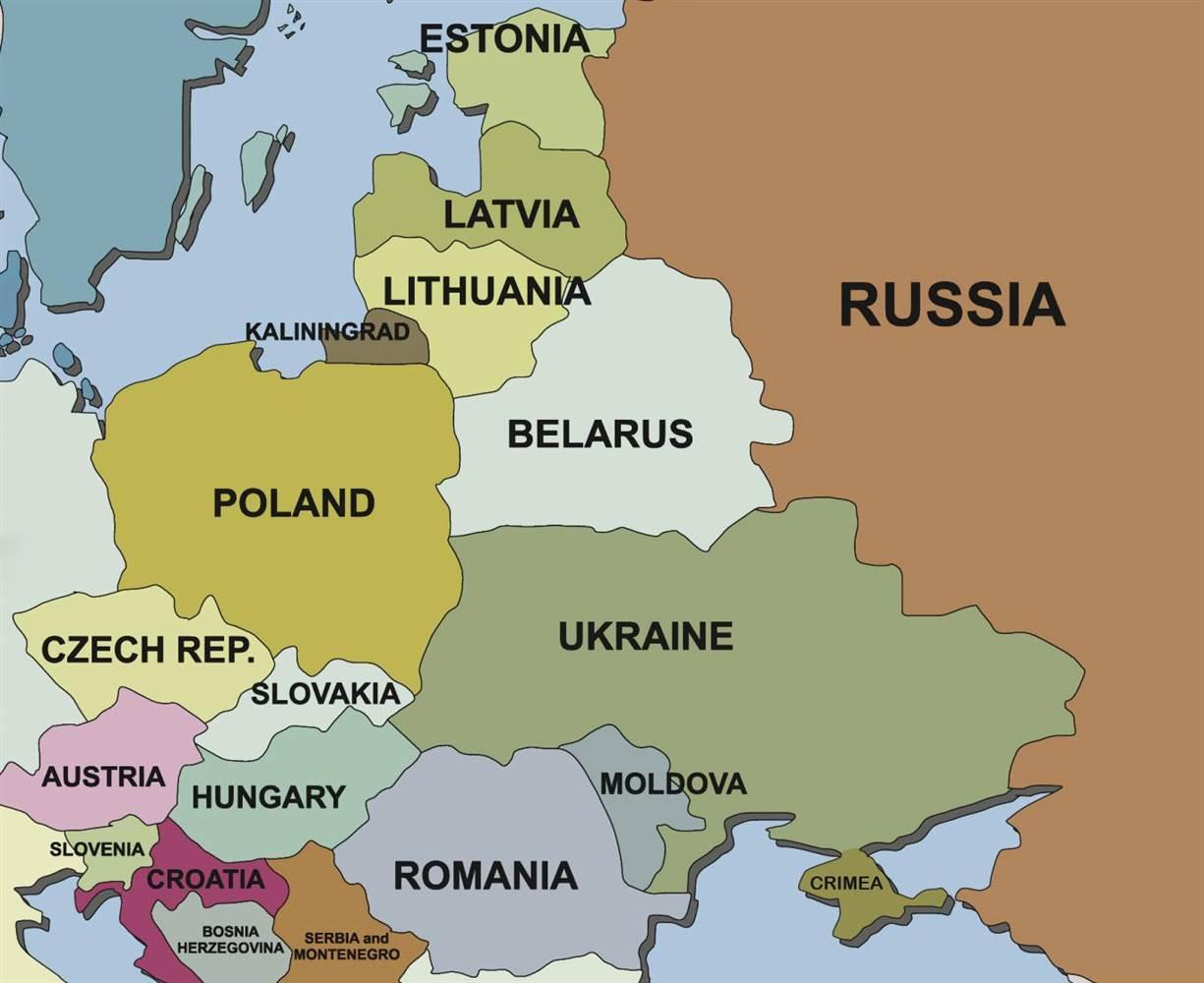 Map Of Italy And Neighbouring Countries.Map Of Slovenia And Neighbouring Countries Map Of Slovenia And