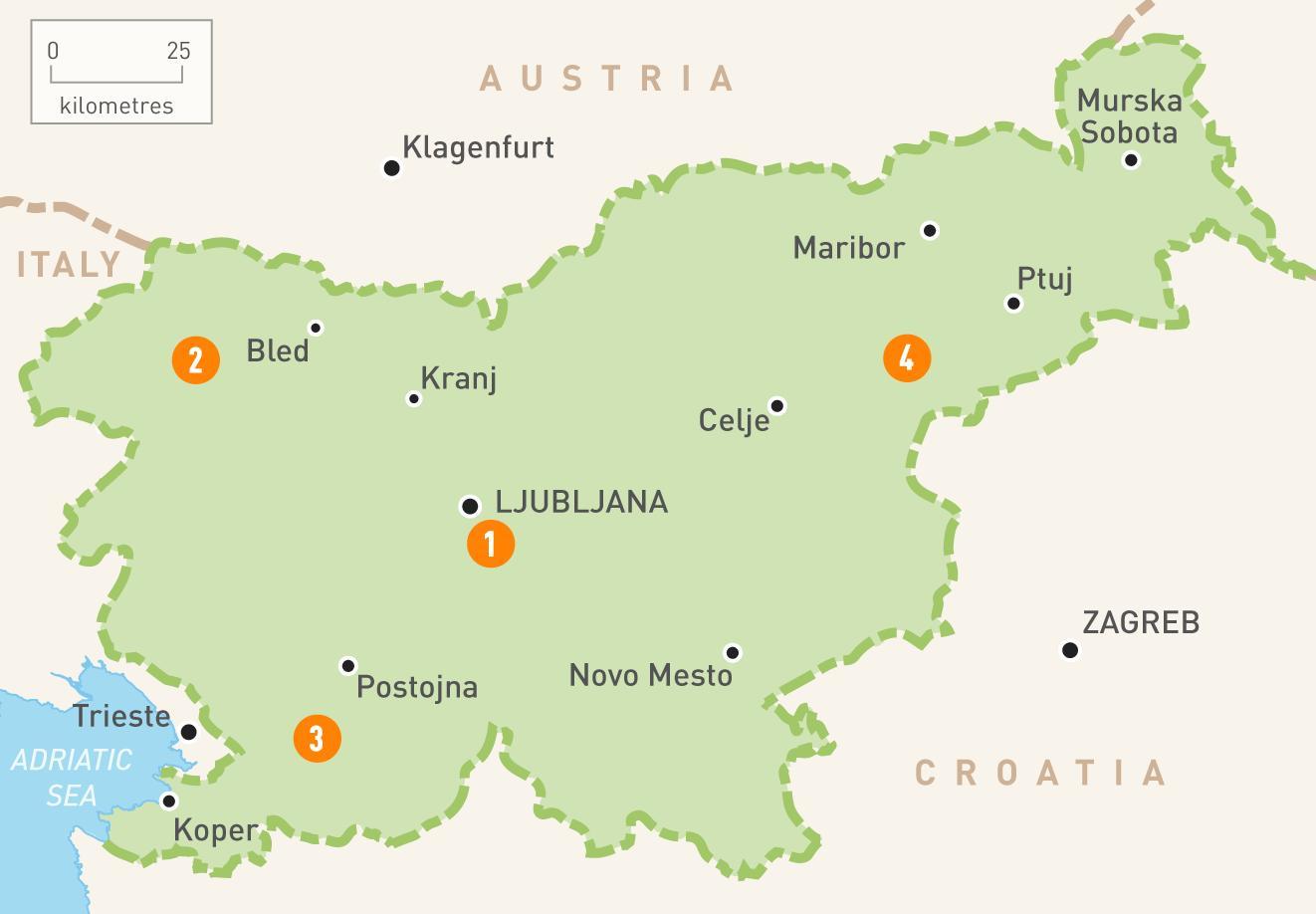 Novo mesto Slovenia map - Map of novo mesto Slovenia (Southern ...